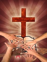 Reaching For The Word At The Foot Of The Cross