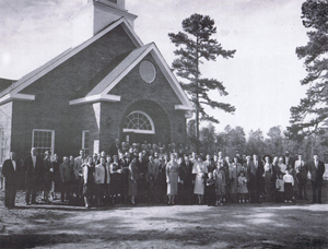 Zion Hill Baptist Church Circa 1957