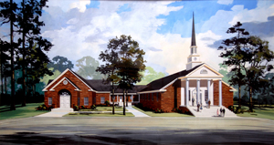 Zion Hill Baptist Church Conceptual Drawing